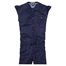 Buy Tommy Hilfiger Girls' Pavi Jumpsuit, Navy Online at johnlewis.com
