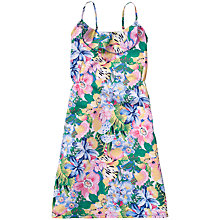 Buy Tommy Hilfiger Girls' Bermuda Flower Print Dress, Multi Online at johnlewis.com