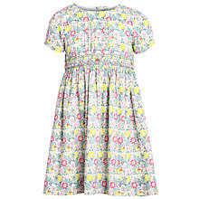 Buy John Lewis Girl Daisychain Print Short Sleeve Dress, Multi Online at johnlewis.com