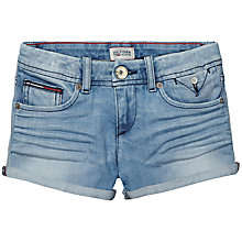 Buy Tommy Hilfiger Girls' Rose Denim Shorts, Blue Online at johnlewis.com