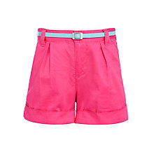 Buy John Lewis Girl Belted Shorts Online at johnlewis.com