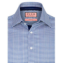 Buy Thomas Pink St. Clair Check Long Sleeve Shirt, Blue Online at johnlewis.com