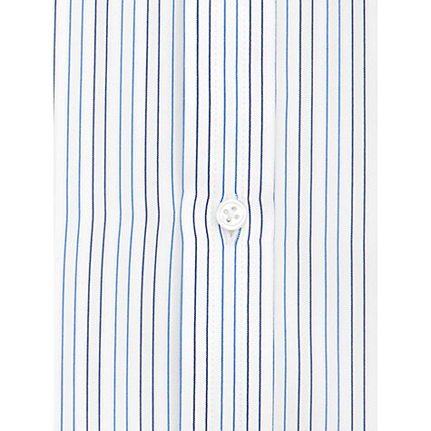 Buy Thomas Pink Cobbe Stripe Long Sleeve Shirt, White/Blue Online at johnlewis.com
