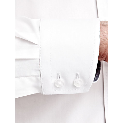 Buy Thomas Pink Hammon Plain Shirt, White Online at johnlewis.com