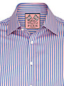 Thomas Pink Vyse Stripe Long Sleeve Shirt