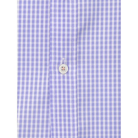 Buy Thomas Pink Sloper Check Long Sleeve Shirt, Purple Online at johnlewis.com