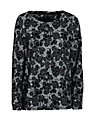 Minimum Stretch Lace Sweatshirt, Black