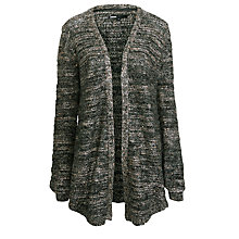 Buy Minimum Lurex Knit Cardigan, Dark Grey Online at johnlewis.com