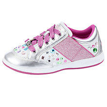 Buy Lelli Kelly California Gem Trainers, Silver/Pink Online at johnlewis.com