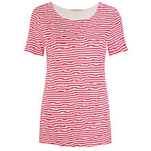 Buy John Lewis Capsule Collection Stripe And Ripple Top Online at johnlewis.com
