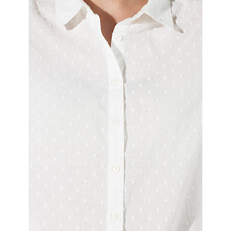 Buy John Lewis Dobby Shirt Online at johnlewis.com