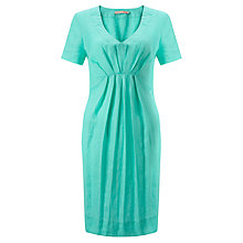 Buy John Lewis Wide Pleat Linen Dress Online at johnlewis.com