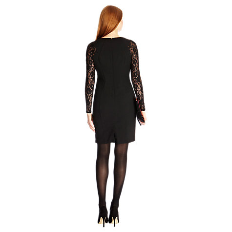 Buy Coast Navina Dress, Black Online at johnlewis.com