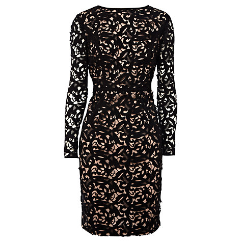 Buy Coast Harlem Lace Dress, Mono Online at johnlewis.com