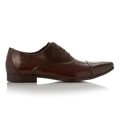 Buy Dune Academy Seam Oxford Shoes, Dark Brown Online at johnlewis.com