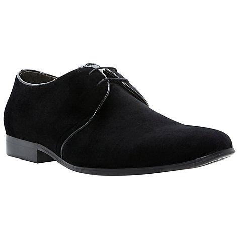 Buy Dune Ambitious Velvet Gibson Shoe Online at johnlewis.com