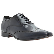 Buy Dune Acoustical Punched Detail Oxford Shoes, Navy Online at johnlewis.com