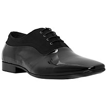 Buy Dune Amusement Patent Oxford Shoes, Black Online at johnlewis.com
