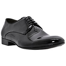 Buy Dune Anonymous Patent Leather Shoes, Black Online at johnlewis.com