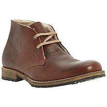 Buy Dune Colombo Fleece-Lined Chukka Boots Online at johnlewis.com
