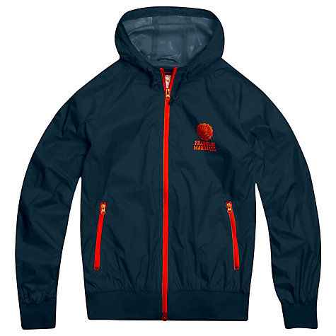 Buy Franklin & Marshall Windbreaker Jacket, Navy Online at johnlewis.com