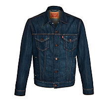 Buy Levi's Trucker Denim Jacket, Charlie Blue Online at johnlewis.com