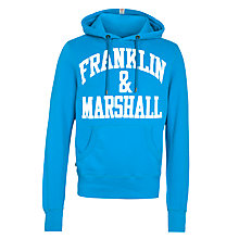 Buy Franklin & Marshall Arched Logo Hoodie Online at johnlewis.com