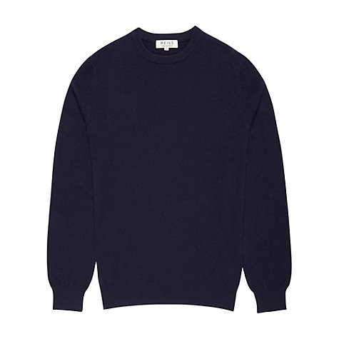 Buy Reiss Herald Cashmere Crew Neck Jumper Online at johnlewis.com