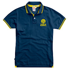 Buy Franklin & Marshall Stripe Detailed Polo Shirt, Navy Online at johnlewis.com