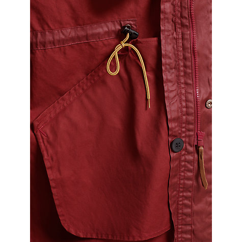 Buy Levi's Funston Parka with Quilted Inner, Auburn Online at johnlewis.com