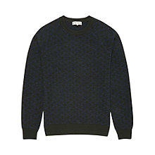 Buy Reiss Jaguar Jacquard Boiled Wool Jumper Online at johnlewis.com