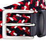 Buy John Lewis Woven Belt, Red/White/Navy Online at johnlewis.com