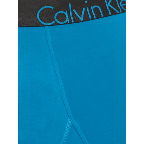Buy Calvin Klein Underwear Bold Cotton Trunks, Blue Online at johnlewis.com