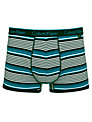 Calvin Klein Underwear Striped Cotton Trunks, Blue/Black
