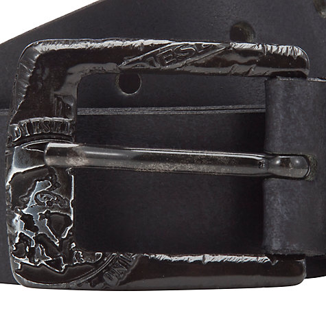 Buy Diesel Ballard Service Belt, Black Online at johnlewis.com