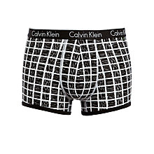 Buy Calvin Klein CK One Cotton Block Print Trunk Online at johnlewis.com