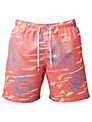 Franks Palm Trees Swim Shorts, Red