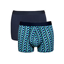 Buy Kin by John Lewis Geometric and Solid Trunks, Pack of 2 Online at johnlewis.com