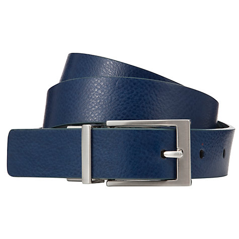 Buy Kin by John Lewis Reversible Block Leather Belt Online at johnlewis.com
