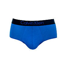 Buy Calvin Klein Underwear Dual Tone Briefs, Blue Online at johnlewis.com
