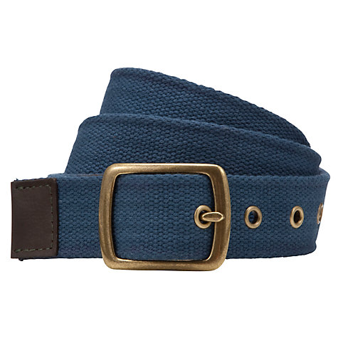 Buy JOHN LEWIS & Co. Canvas Belt Online at johnlewis.com