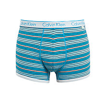 Buy Calvin Klein CK One Cotton Stripe Trunk, Blue Online at johnlewis.com