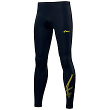 Buy Asics Tiger Running Tights, Black Online at johnlewis.com