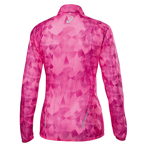 Buy Asics Featherweight Running Jacket, Pink Online at johnlewis.com