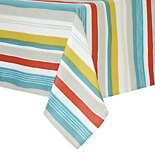 Buy John Lewis Scandi Stripe Wipe Clean Tablecloth Online at johnlewis.com
