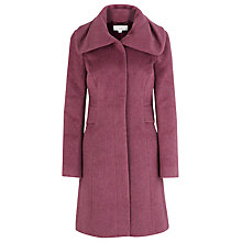 Buy Kaliko Mohair Coat, Purple Online at johnlewis.com
