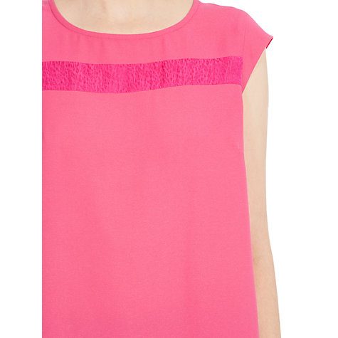 Buy Coast Livia Top, Pink Online at johnlewis.com