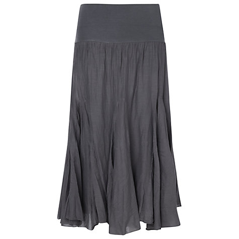 Buy Phase Eight Natalia Skirt, Grey Online at johnlewis.com