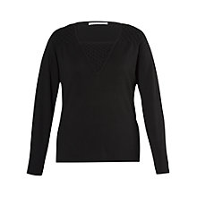 Buy Chesca Bead Trip Jumper, Black Online at johnlewis.com