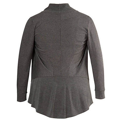 Buy Chesca Studded Melange Jersey Shrug Online at johnlewis.com